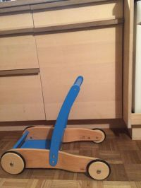 Laufwagen / Lauflernwagen von Pinolino Uli,blau in ...