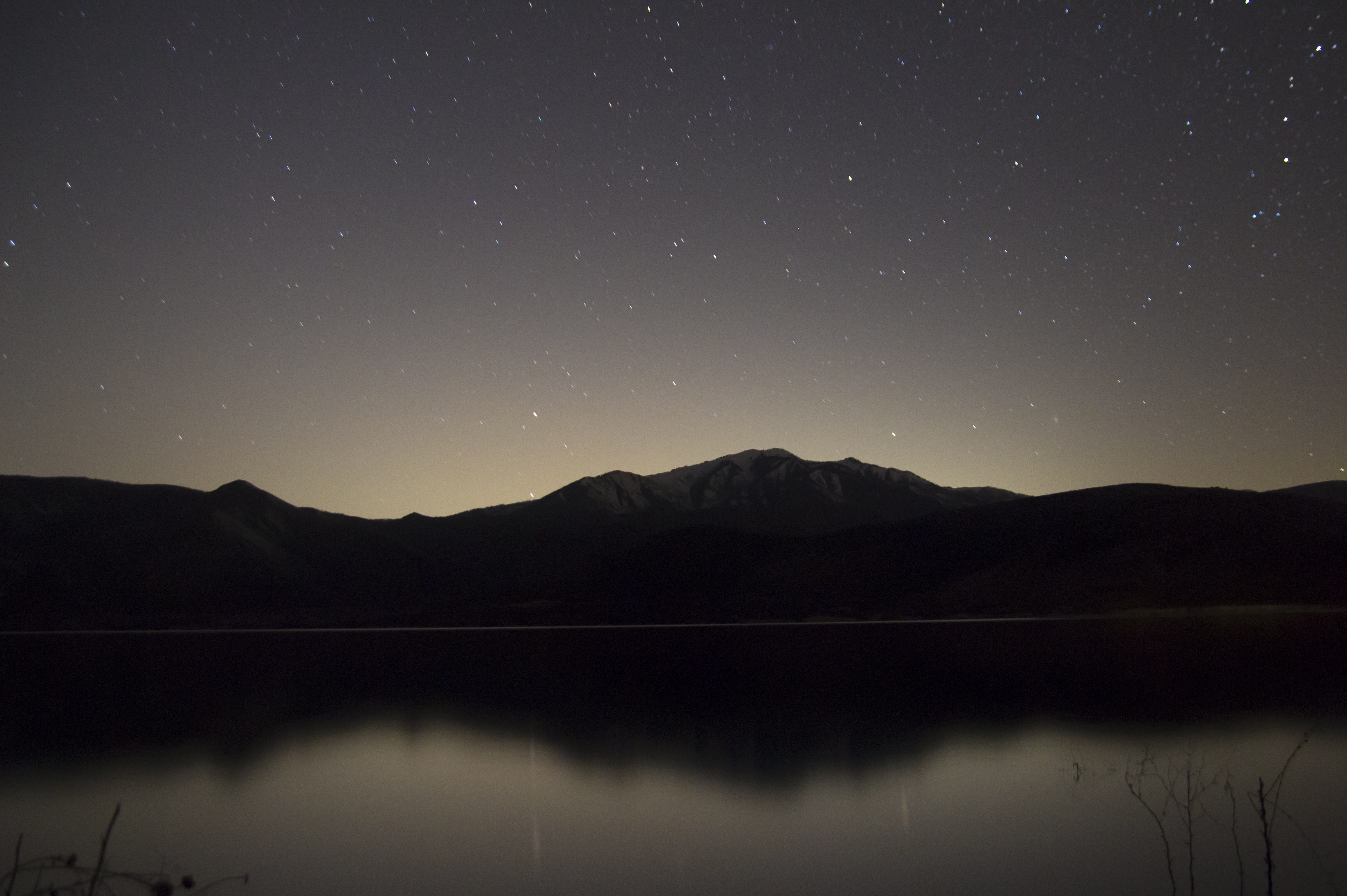 Peace Hd Wallpapers Free Download Picalls Com Lake And Mountains At Night By Daniel Bowman