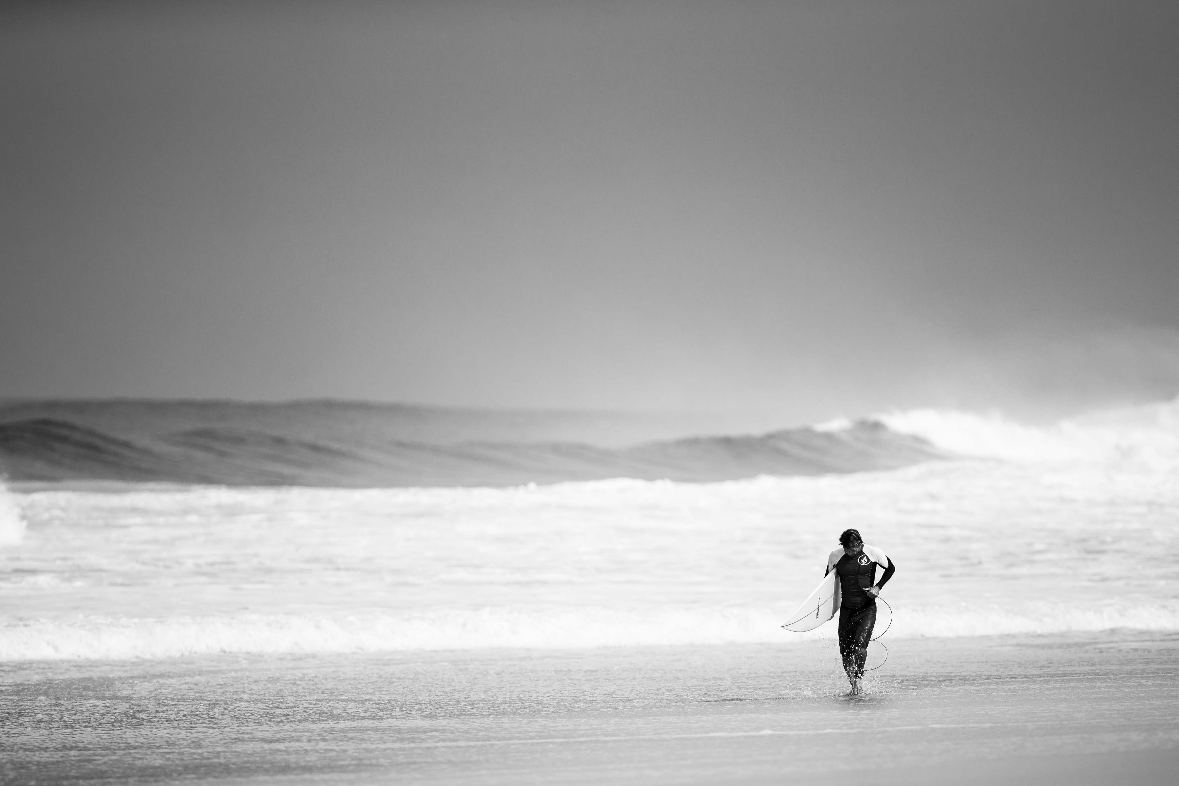 Little Girl Wallpaper Free Download Picalls Com Surfer On The Beach By Andreas Winter