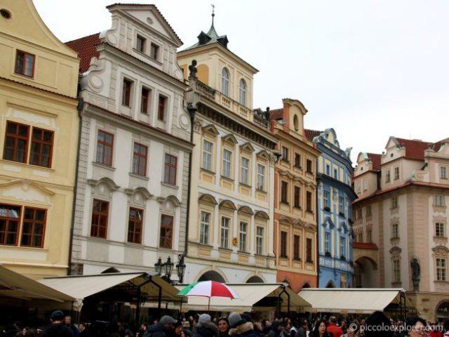 Buildings in Prague Old Town