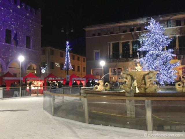 Ice Rink in Pesaro, Italy