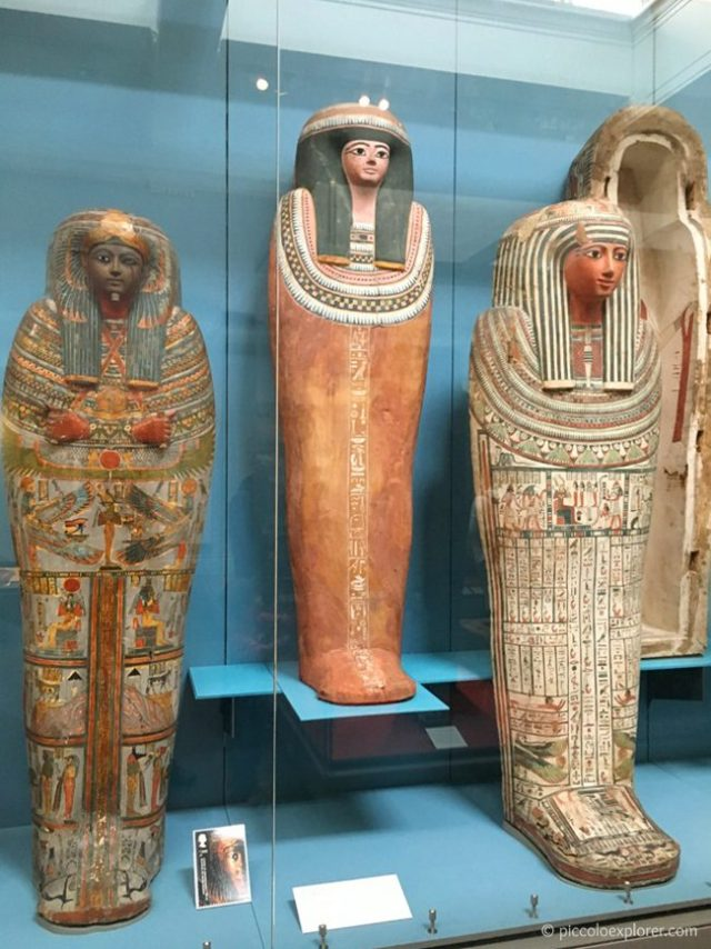 Ancient Egypt Gallery, British Museum, London