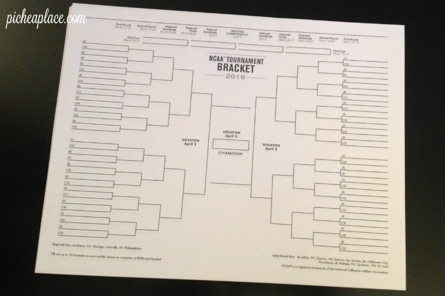 How to Fill Out a March Madness Bracket for Kids