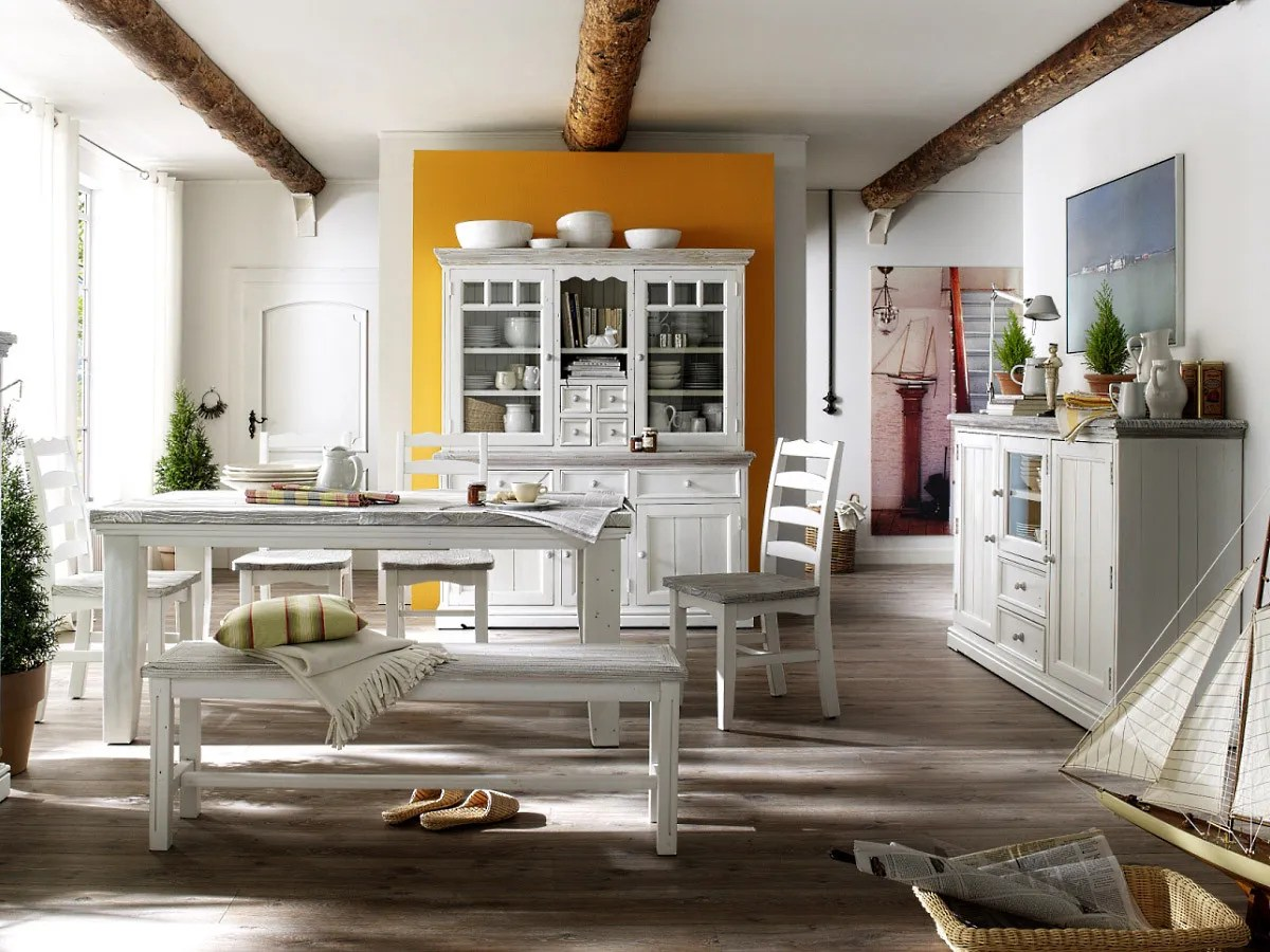 Esszimmer Buffet Landhausstil Esszimmer Weiss Landhausstil Opus Komplett Recycle Kiefer