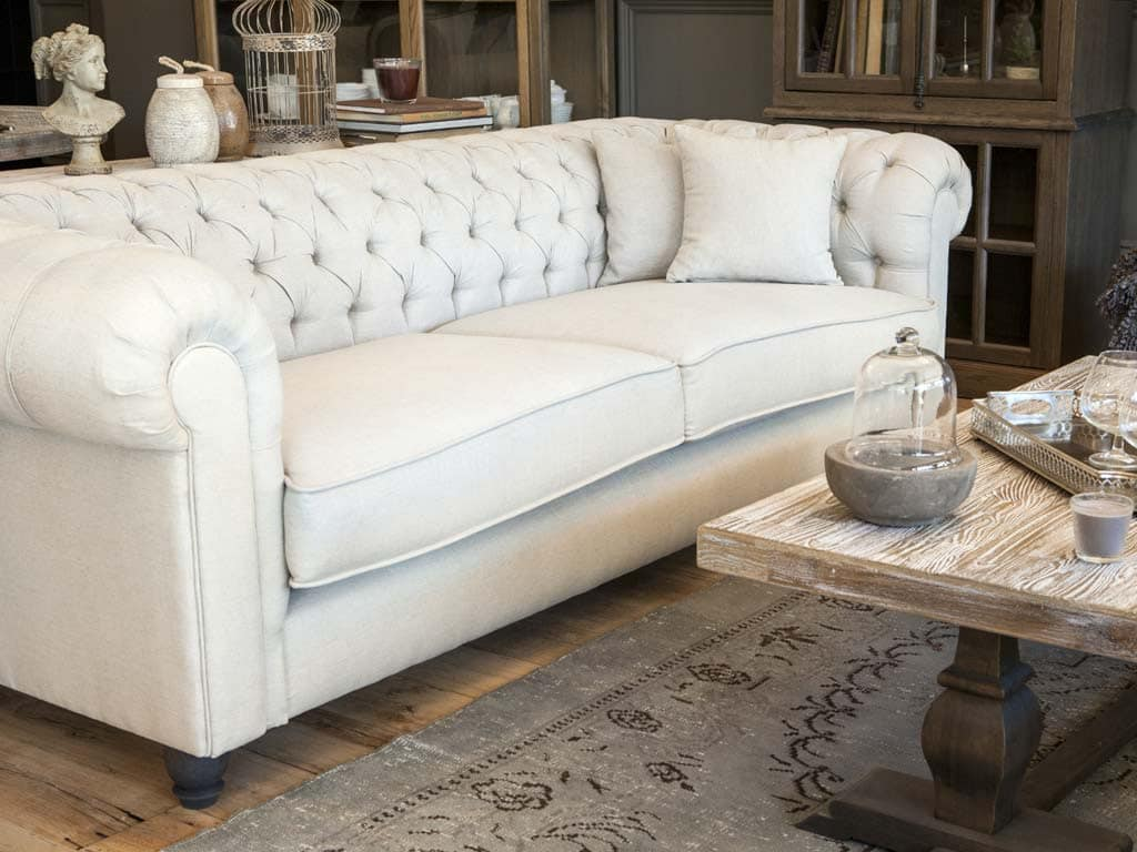Eckbank Massivholz Sofa Springfield Landhausstil Coastal Homes Pickupmöbel.de