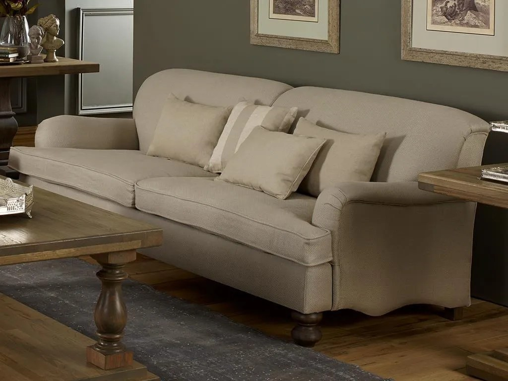 Eckbank Massivholz Landhaus Sofa Manhattan Country-stil Von Coastal Homes