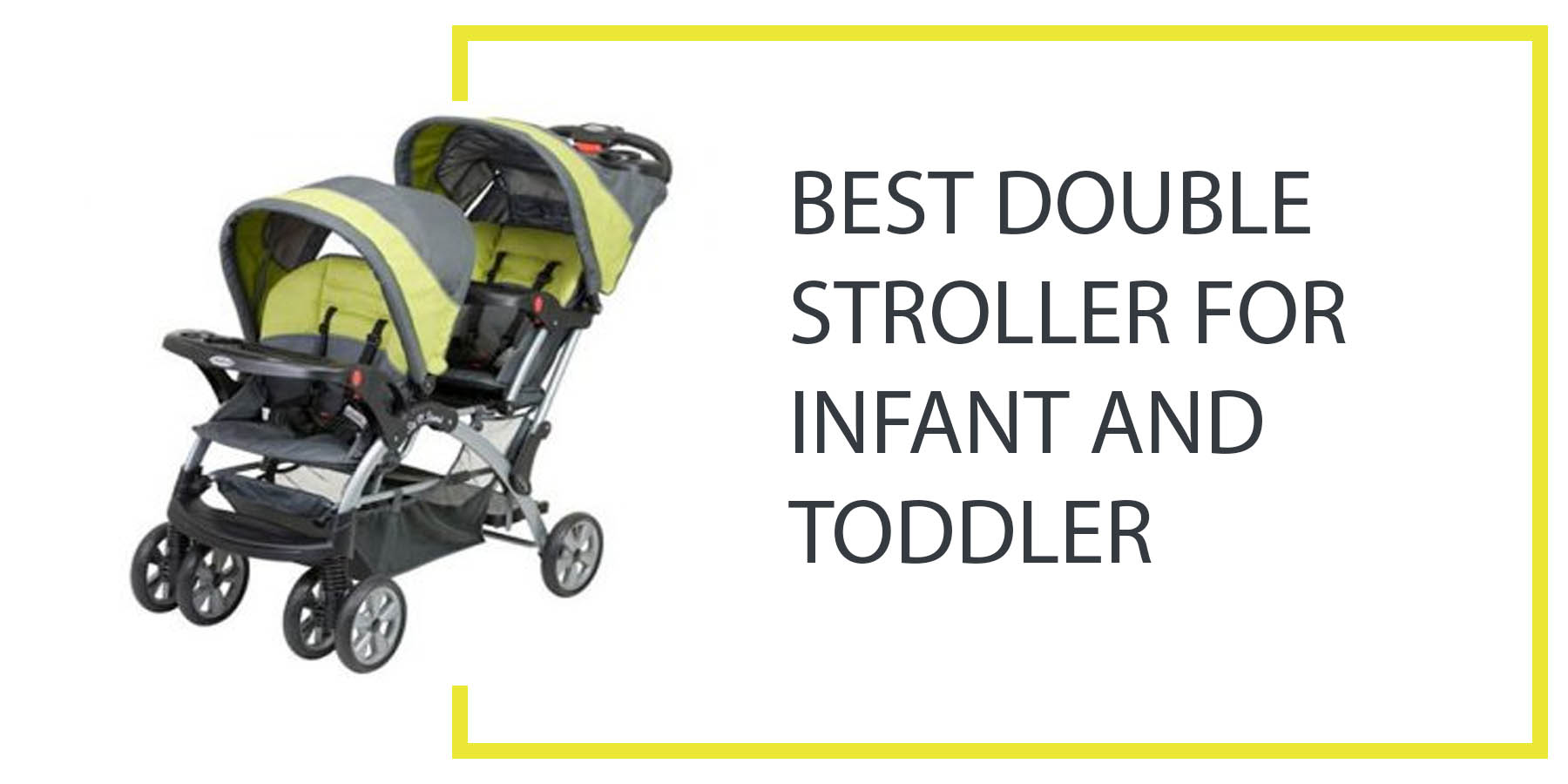 Infant Seat Double Stroller Best Double Stroller For Infant And Toddler Best Double