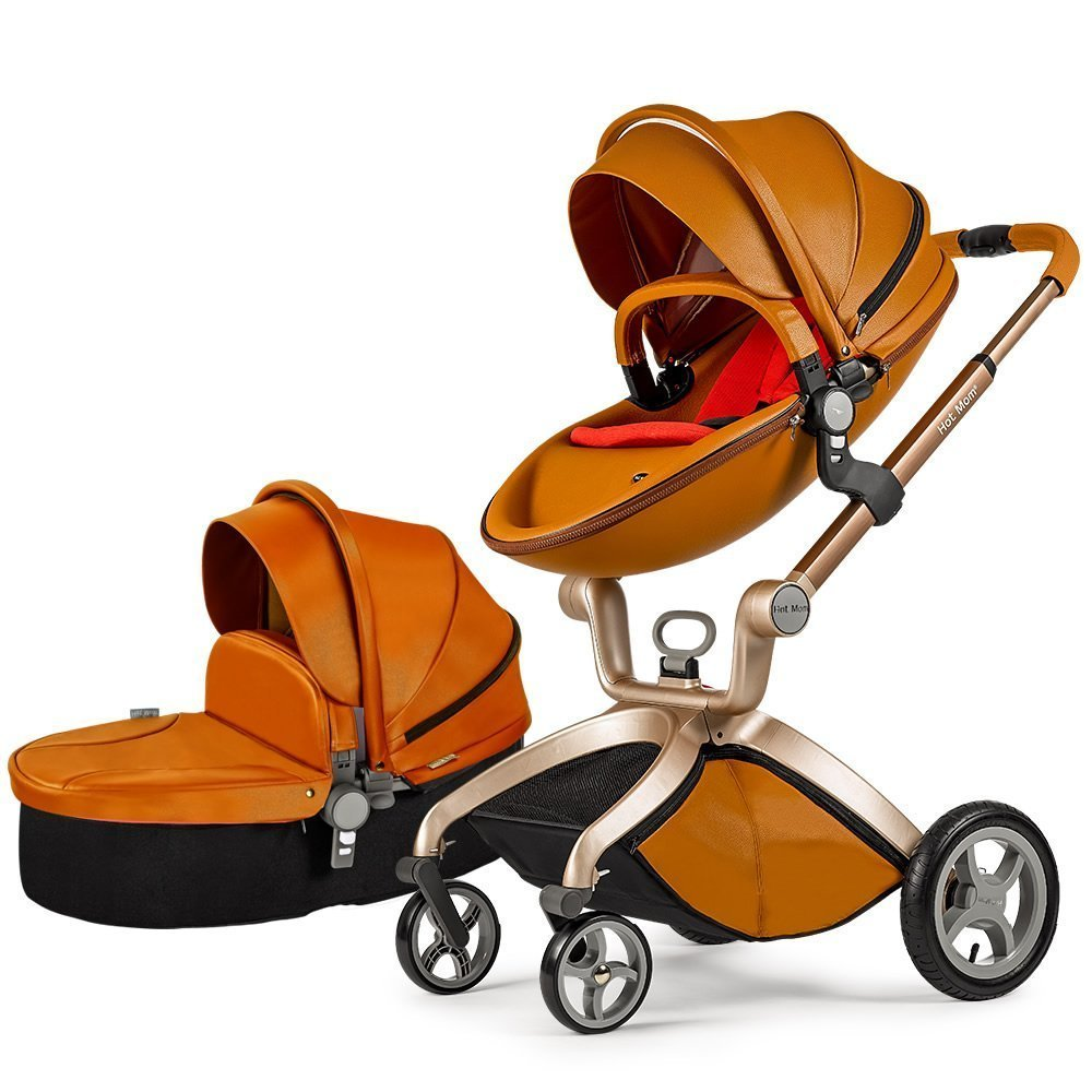 Portable Newborn Baby Stroller 3 In 1 Car Seat Stroller Hot Mom 3 In 1 Portable Baby Stroller Travel System