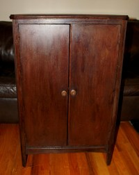 Vintage Record Cabinet - Teen Porn Tubes