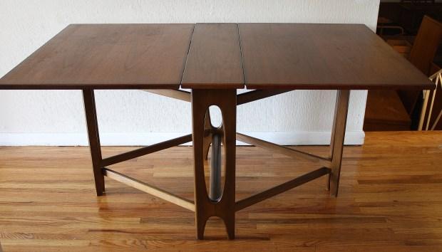 danish folding dining table 2