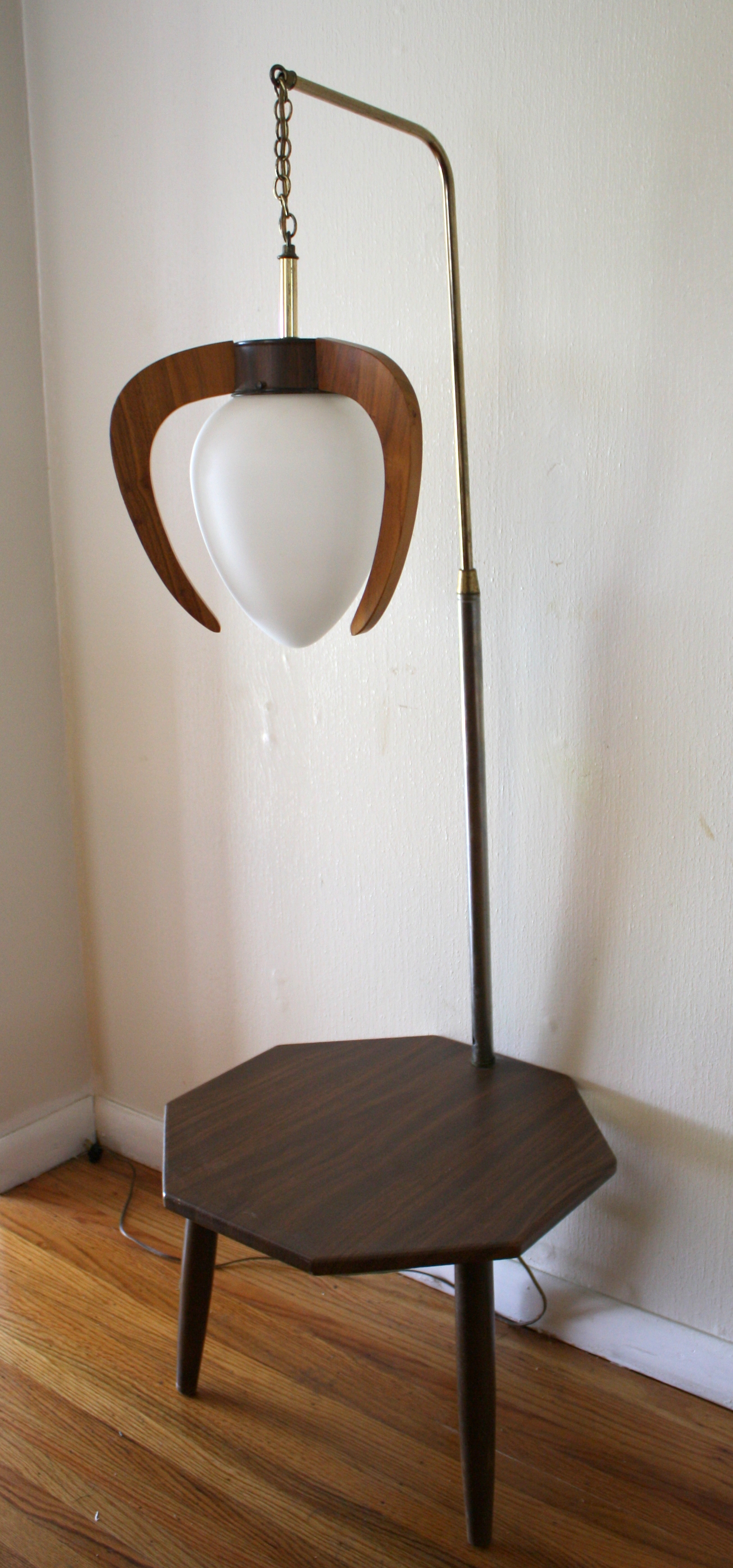 Contemporary Lamp Tables Mid Century Modern Pendant Lamp Table Combination Picked