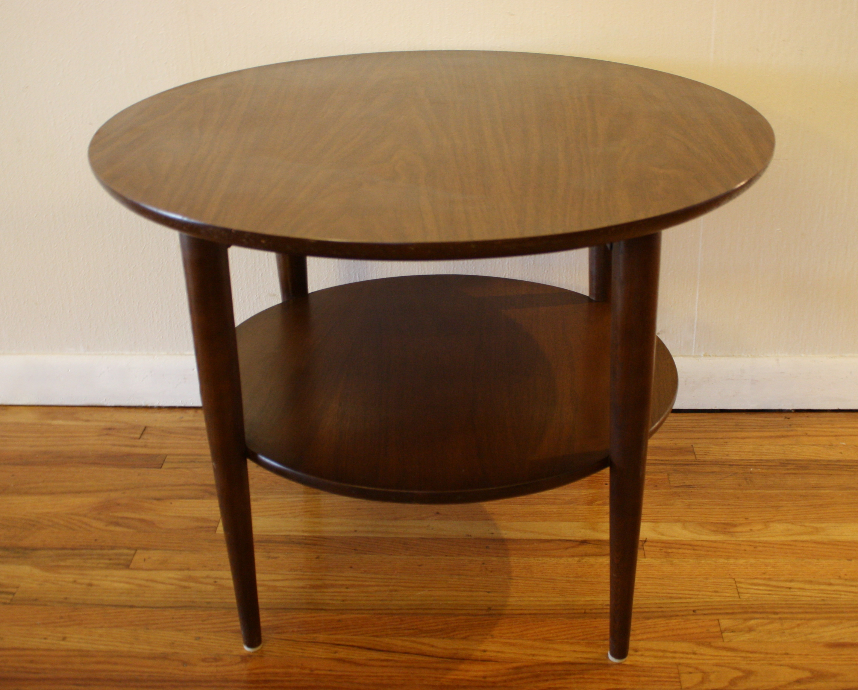 Round Coffee Table And End Tables Mid Century Modern Round Coffee Table And Side Table