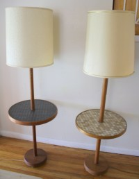 modern floor lamp with table  Roselawnlutheran