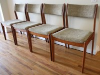 Set of 4 Mid Century Modern Danish Dining Chairs | Picked ...
