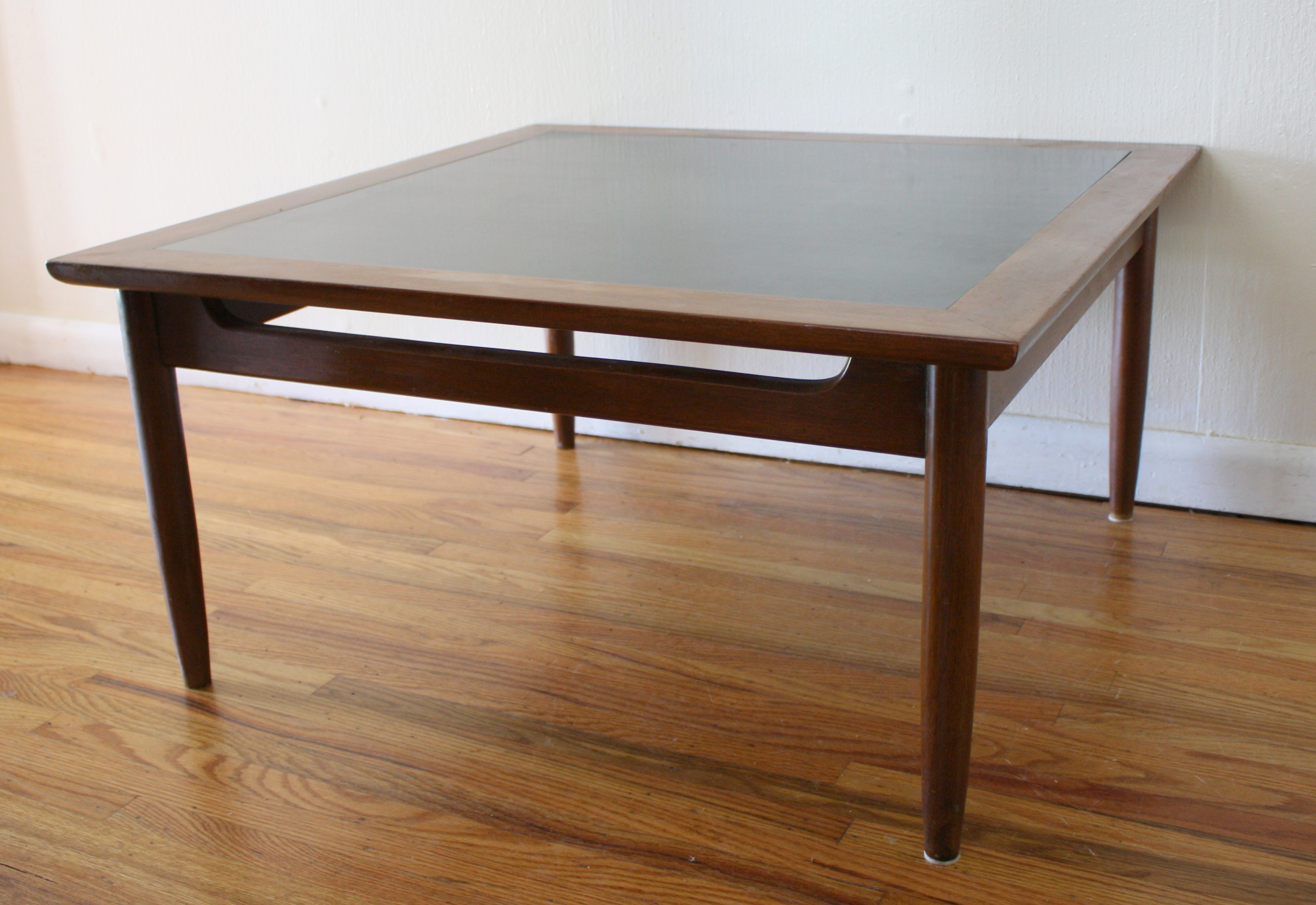Mid Century Black Coffee Table Mid Century Modern Square Coffee Tables Picked Vintage