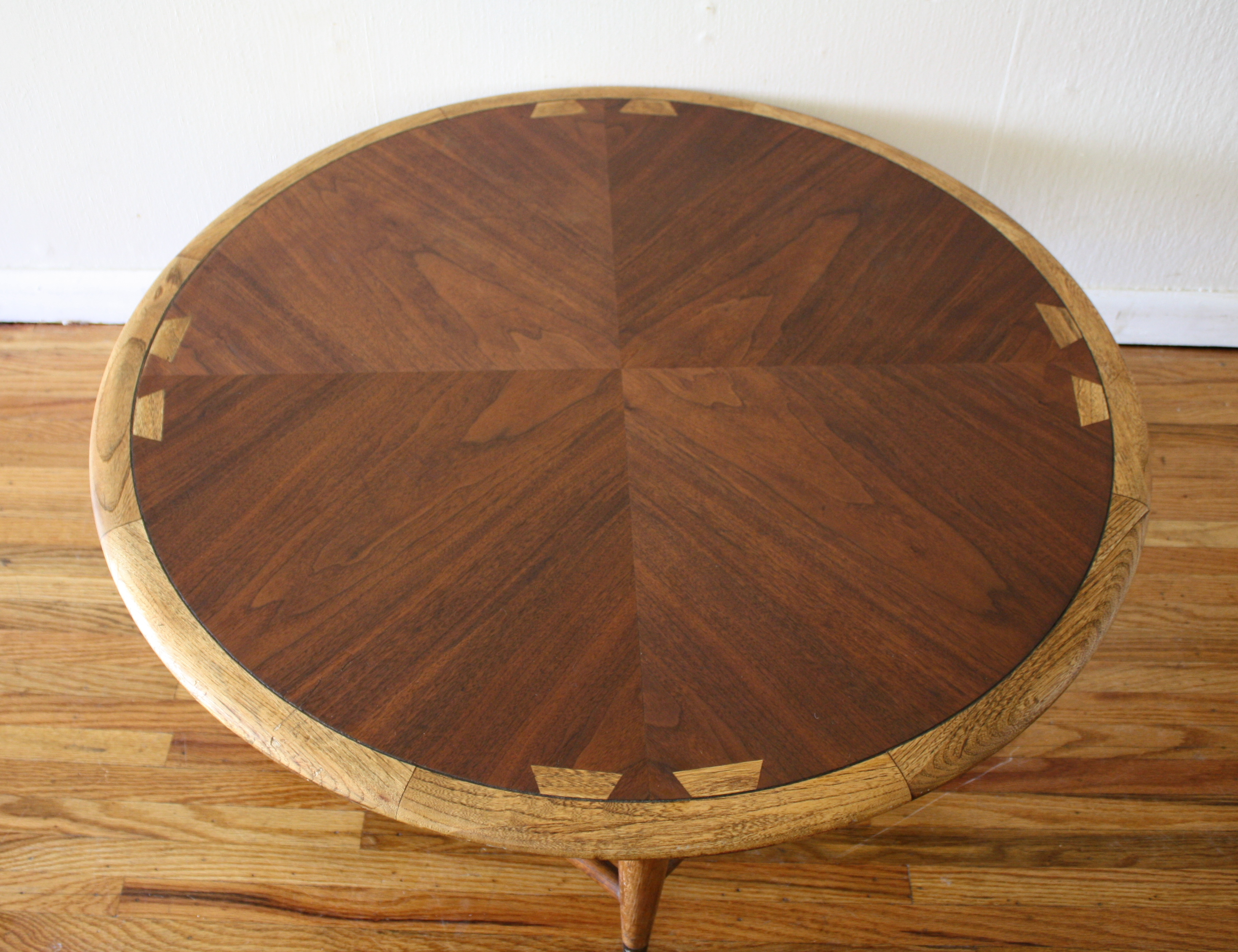 Round Mid Century Coffee Table Mid Century Modern Round Lane Acclaim Coffee Table