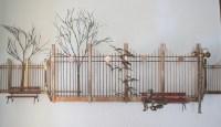 Mid Century Modern Brutalist Wall Hanging Sculpture Art by ...