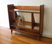 Mid Century Modern Danish Mini Book Shelf | Picked Vintage