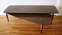 Mid Century Modern Swivel Coffee Table