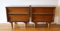 Mid Century Modern Matching Dressers and Nightstands by ...