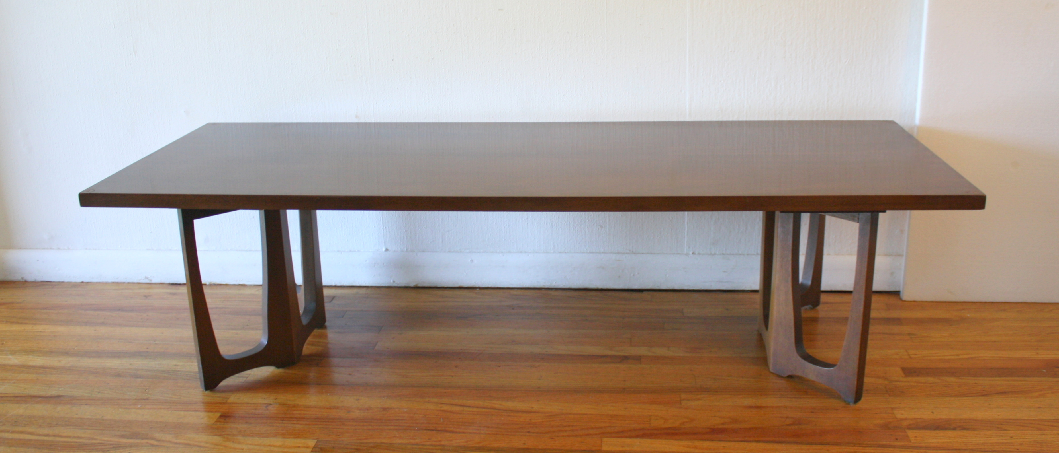 Coffee Table And Dining Table In One Mid Century Modern Broyhill Brasilia Coffee And Side End