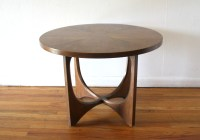Broyhill Brasilia round side end table 2 | Picked Vintage