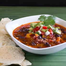 Vegetarian Black Bean Chili-