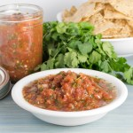 Easy Red Tomato Salsa