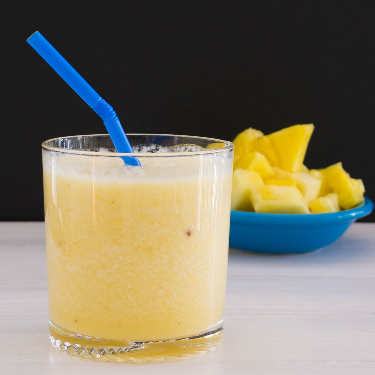 Tropical Pineapple Smoothie | Pick Fresh Foods | Pick Fresh Foods