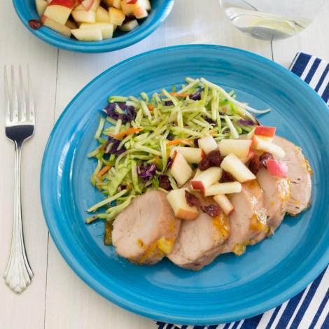 Glazed Pork with Apple Salsa | Pick Fresh Foods
