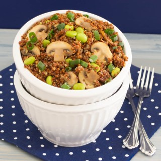Quinoa with Edamame and Mushrooms| Pick Fresh Foods
