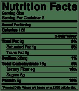 NutritionLabel-strawberry quinoa salad