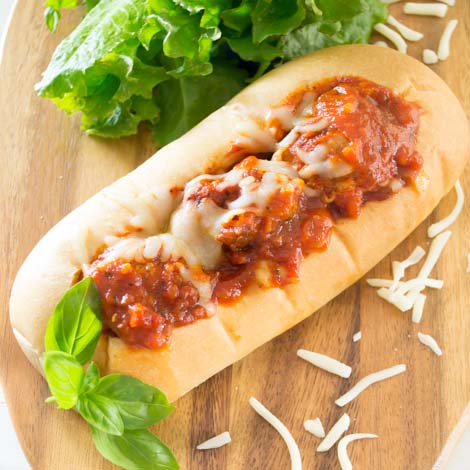 Meatball Sub Sandwich | Pick Fresh Foods
