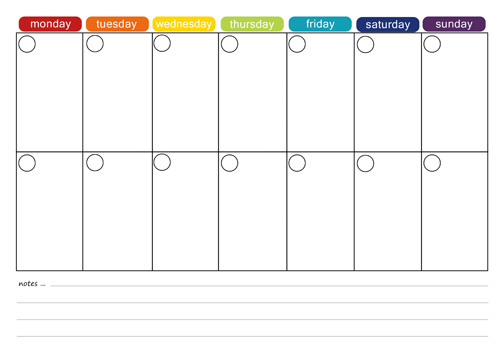 More Free Printable Menu Plans - Picklebums - menu planning template