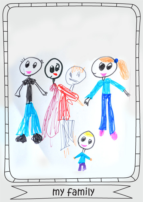 Drawing Ideas for Kids - Printable Drawing Frames - Picklebums