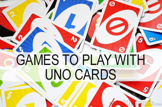 More than Just Uno - Simple Games You Can Play With Uno Cards