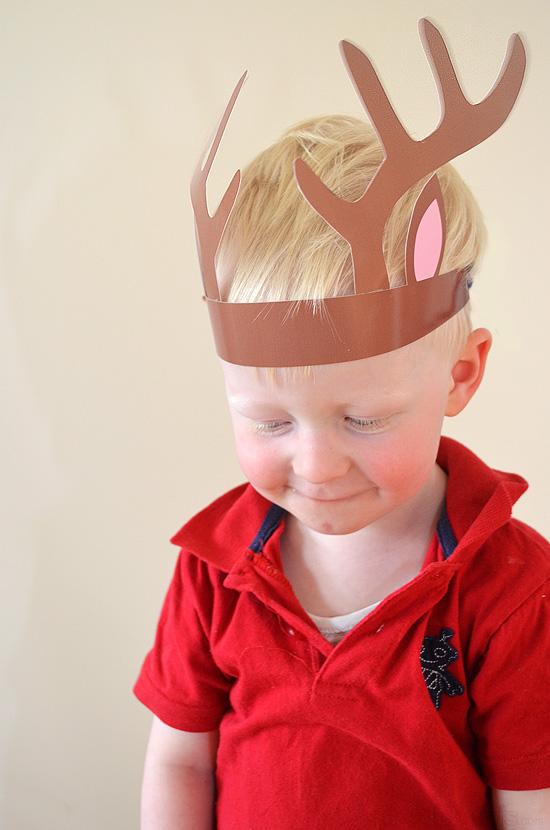 Printable Reindeer Antlers! - Picklebums