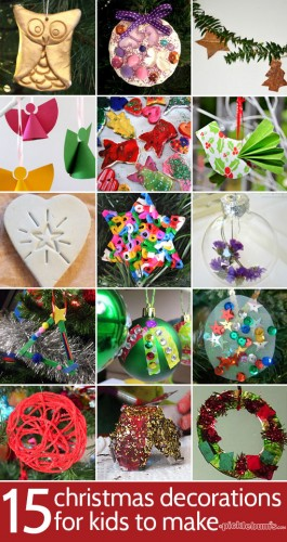 15 Christmas Decorations For Kids To Make Picklebums