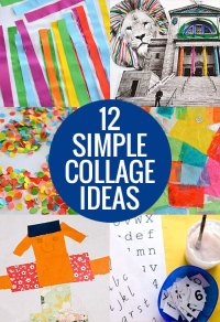 12 Simple Collage Ideas - Picklebums