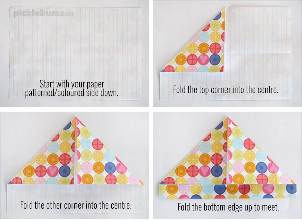 Two Easy Foldable Letters - Picklebums
