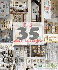DIY Art/Photo Wall Collages & Endless Inspiration