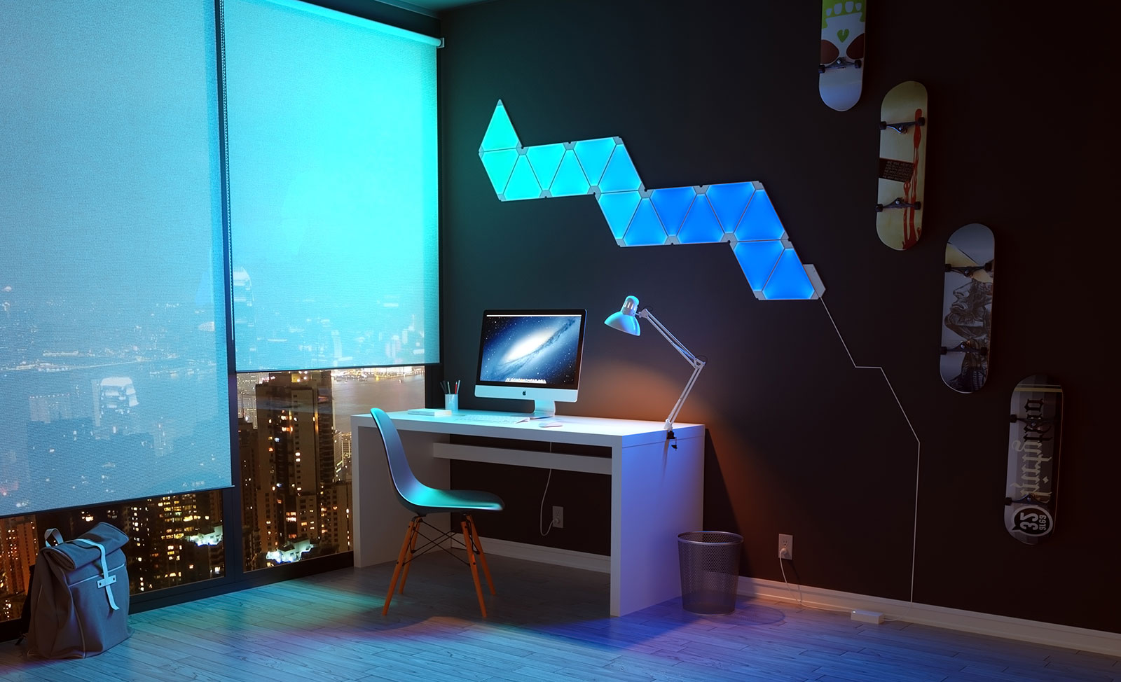 Jb Hi Fi Lighting Nanoleaf Lights Up Rooms In Ways No Smartlight Will Pickr