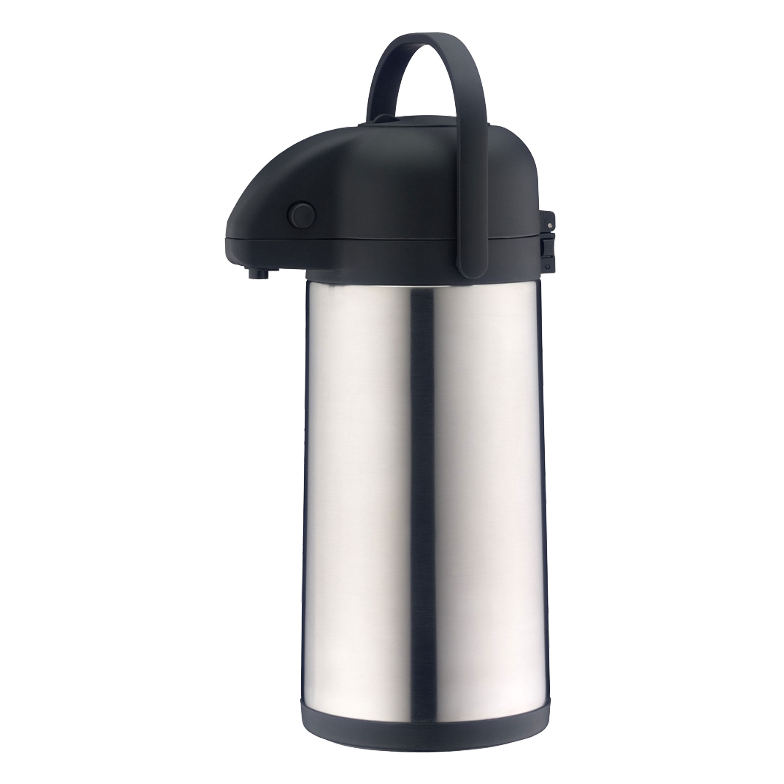 Thermo Pumpkanne Alfi Thermal Jug With Pump Mechanism Tt Drinks Dispenser Thermos Jug Pump Jug Stainless Steel Matted 2 5 L 0837205250 At About Tea De Shop