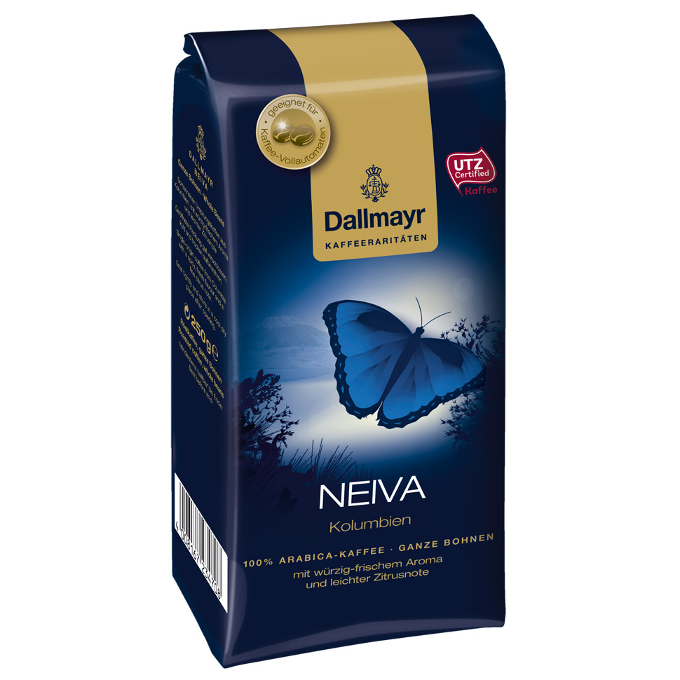 Utz Schokolade Dallmayr Coffee Rarities Neiva Whole Beans Utz Certified 250g At About Tea De Shop