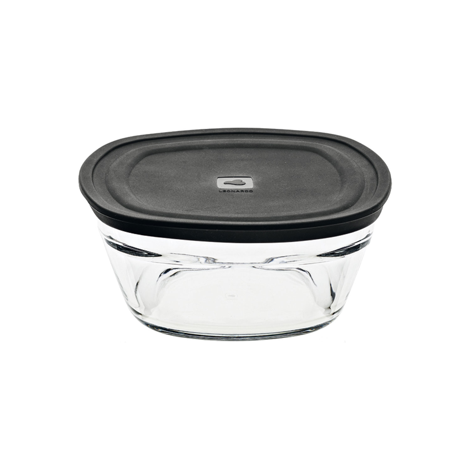 Container Cucina Leonardo Cucina Airtight Container With Lid Storage Box Bowl Lunchbox Breakfast Container Clear Glass Mixed Materials 1000 Ml 19046 At