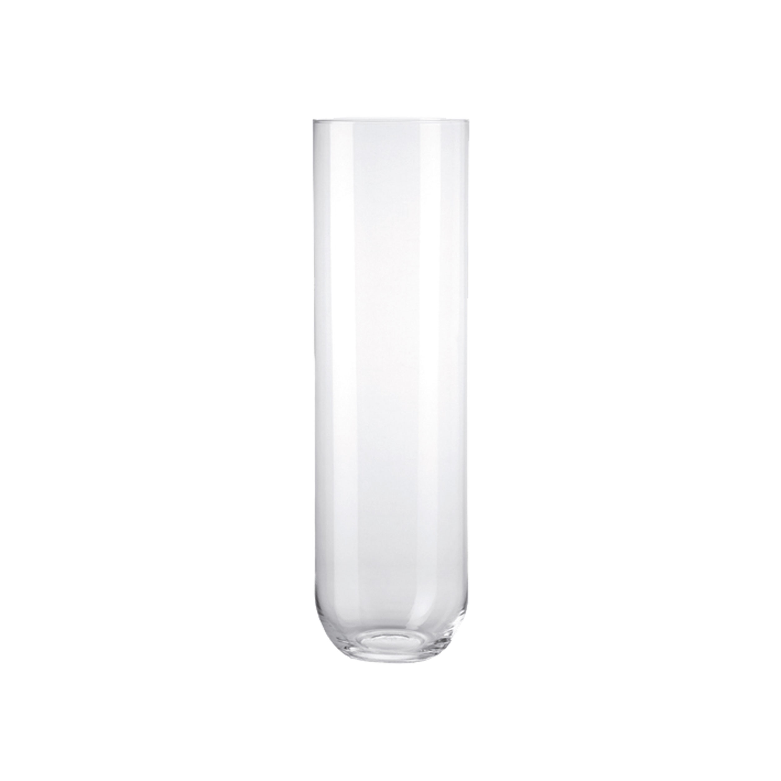 Leonardo Vase Leonardo Milano Vase Flower Vase Handmade Clear Glass Thick Base Glass H 50 Cm 29604 At About Tea De Shop