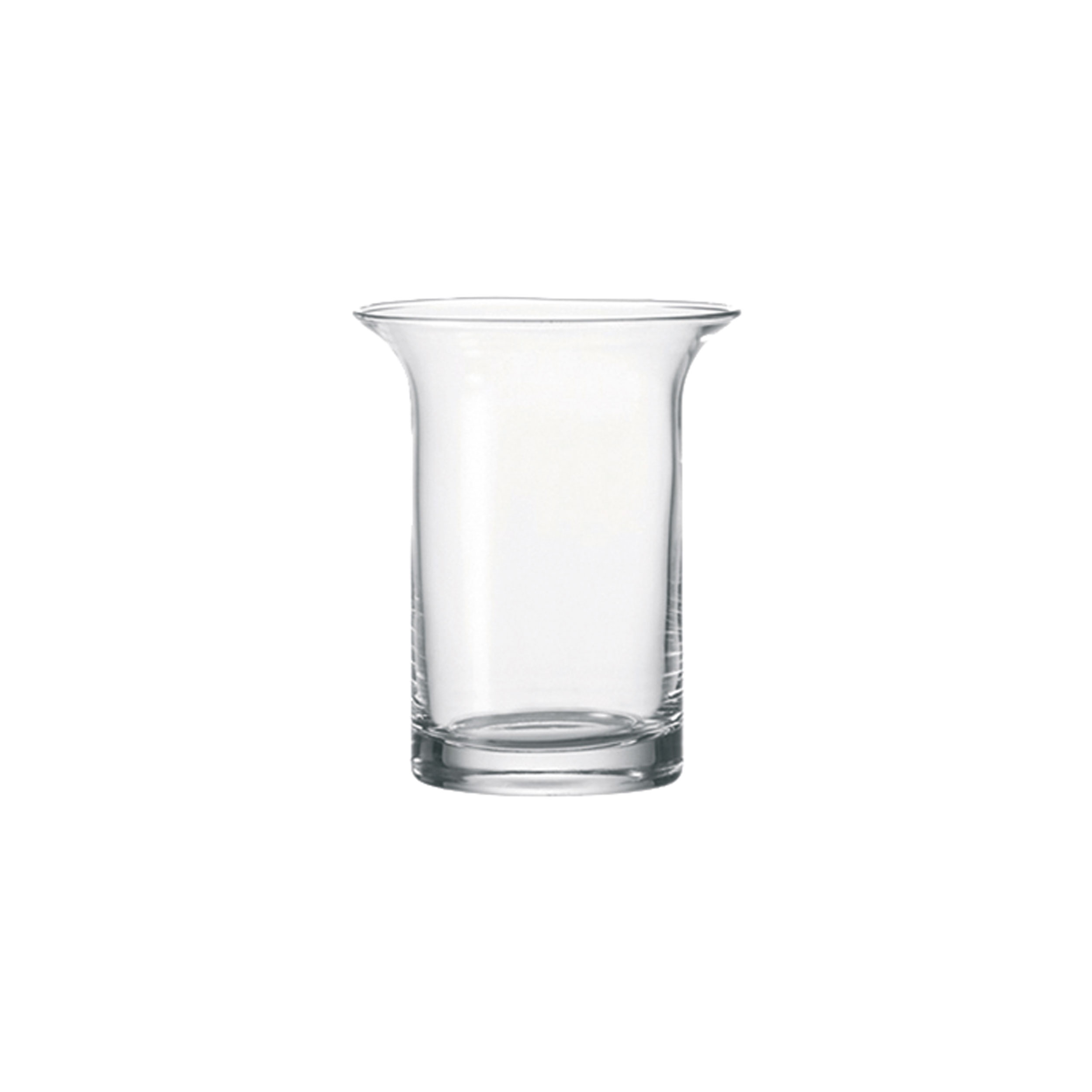 Leonardo Vase Leonardo Breeze Vase Flower Vase Handmade Clear Glass Thick Glass Base Glass H 16 Cm 30662 At About Tea De Shop