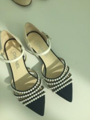 I love, love love these!. If you see shoes you love in the catalogue or in video from the runway, you have to call and order them right away!