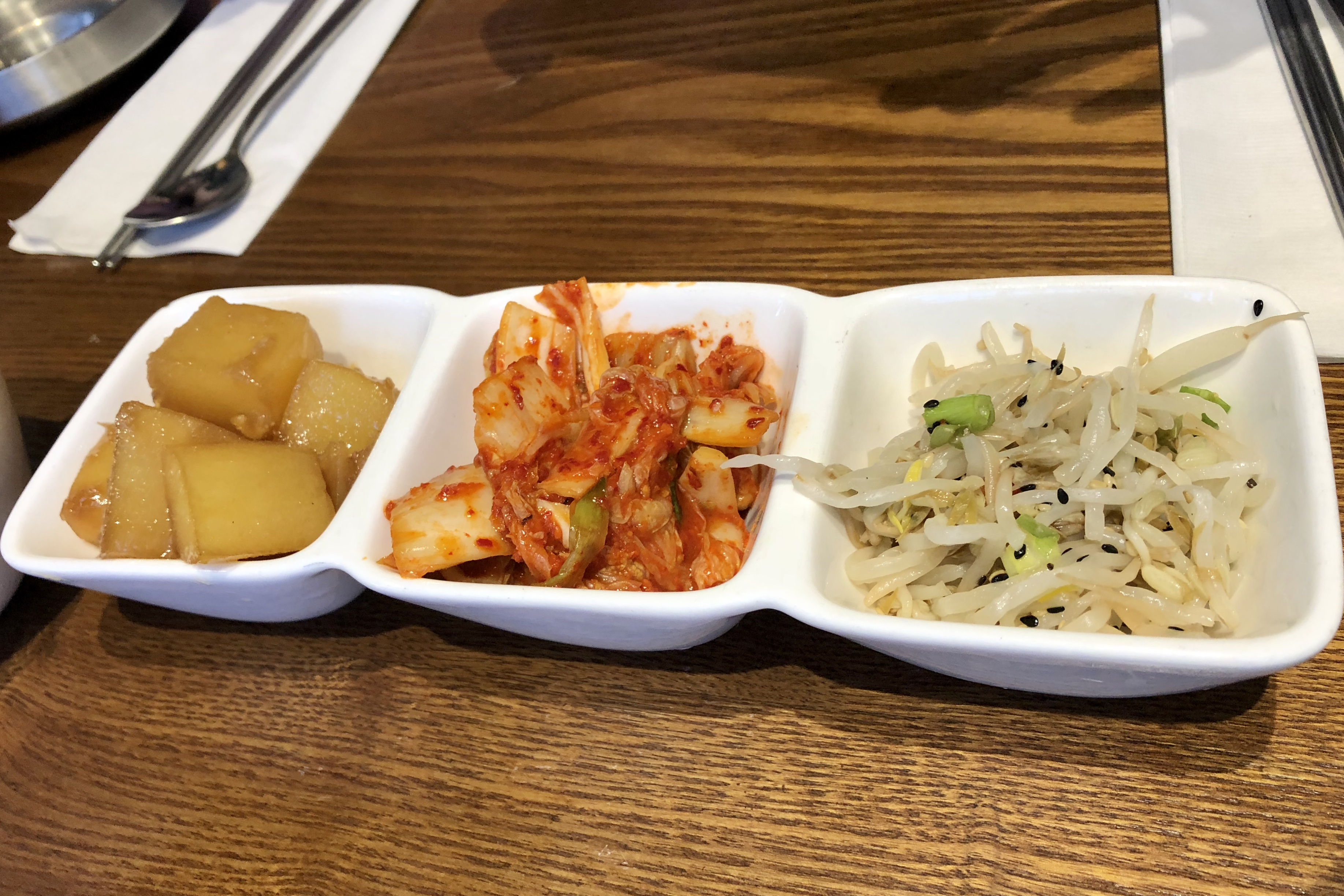 Classic Table Side Dishes Newly Opened In Richmond Daan Korean Cuisine Serves Typical But