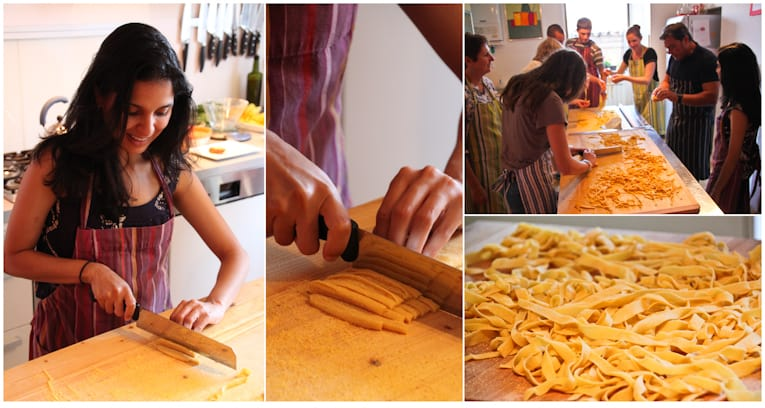 IMG_8022 - making pasta collage - cooking class